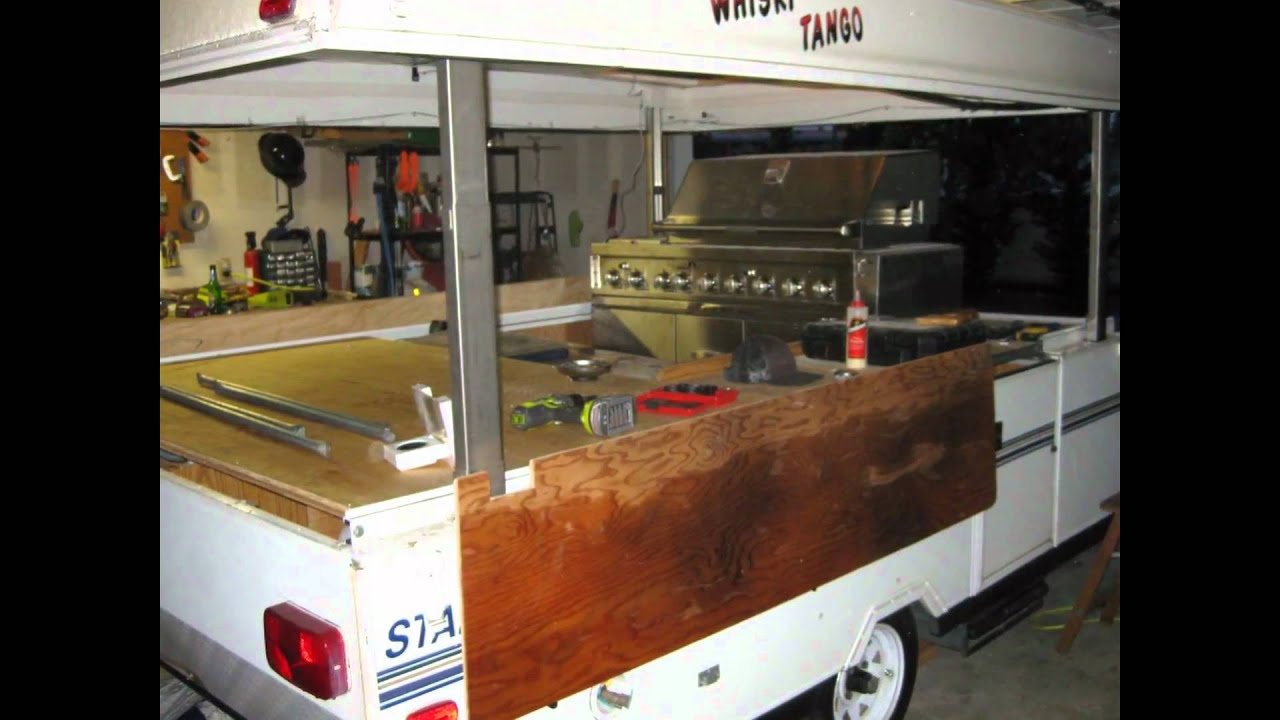 Whiskey Tango Bbq Tailgating Trailer Youtube