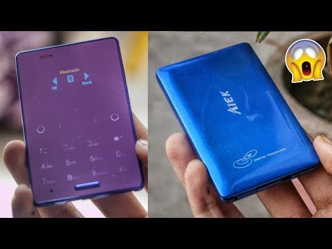 WORLD'S SMALLEST TOUCH SCREEN PHONE UNBOXING   1000 RUPEES ONLY   Cool Gadgets New Tech