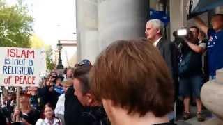 Reclaim Australia Rally Adelaide - John Bolton