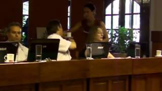 Sesi�n Diciembre 2013 - Concejo Representantes Carlos Paz - Tema Convenio Grupo Madagascar
