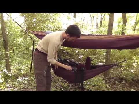 ENO Underbelly Hammock Gear Sling review and set-up
