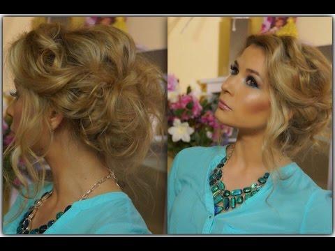 Romantic hairstyles /Романтическая прическа на средние волосы за 5 МИНУТ