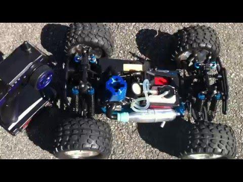 Redcat Volcano S30 Nitro Truck - Startup