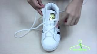 Video clip Mẹo mặc đẹp - 4 kiểu buộc dây giày thể thao cực sành điệu và lạ mắt