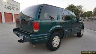 1997 Olds Bravada SUV Oldsmobile Interior Video Review