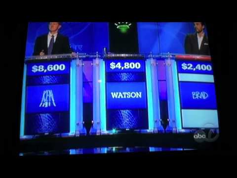 Jeopardy! IBM's Watson Day 3 (Feb 16, 2011) HUMAN VS. COMPUTER
