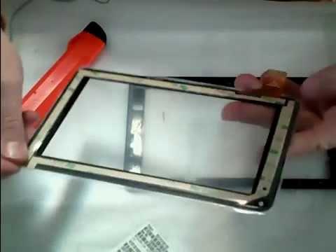 Cambiar o sustituir el cristal táctil de una Tablet PC 7