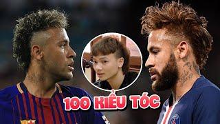 Chỉ trong vòng vài năm Neymar đã đổi hơn hàng trăm kiểu tóc cực chất