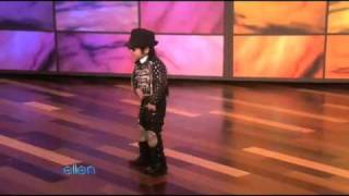 An Unbelievable 4-Year-Old Dancer Performs for Ellen(02/15/10)