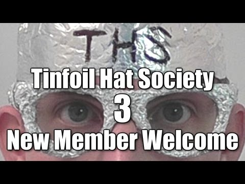 Tinfoil Hat Society: New Member Welcome (Part 3) Interactive ASMR performance / role play