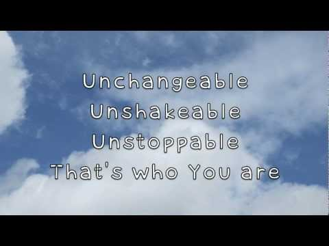 You Are God Alone Lyrics video