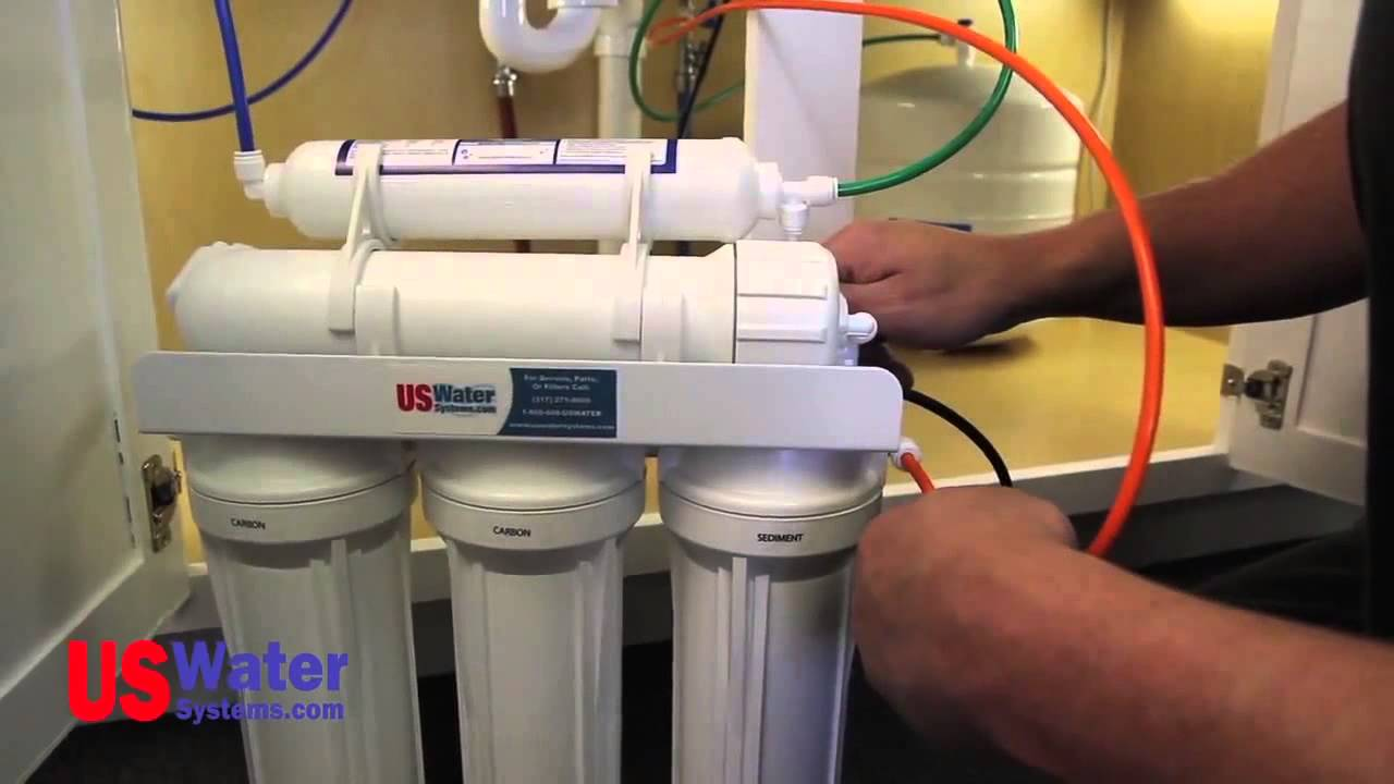 Reverse Osmosis Installation  U0026quot How To U0026quot  - Us Water Systems