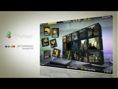 Playcast Cloud Gaming Interface by JWT London