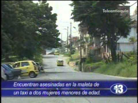 Dentro de un taxi hallan a dos adolescentes asesinadas