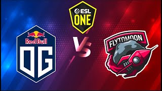 🔴[Dota 2 LIVE] OG vs FTM (Bo3) ESL One Birmingham 2020 English Caster