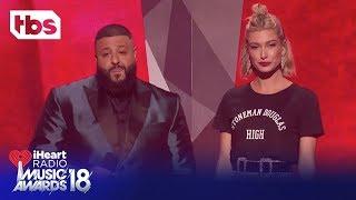 Download Lagu DJ Khaled & Hailey Baldwin: 2018 iHeartRadio Music Awards | Opening Monologue | TBS Gratis STAFABAND