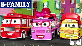 download lagu B-family Wheels On The Bus And More Songs  gratis