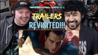 MAN OF STEEL - TRAILERS REVISITED!!! (How Accurately Portrayed Was The Movie?!)))