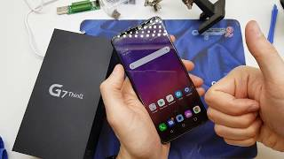 LG G7 SIM Card & Micro SD How to Insert