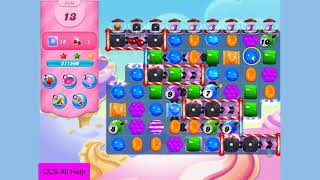 Candy Crush Saga Level 3442 NO BOOSTERS Cookie