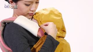 Bebamour Baby Carrier Cover Universal Warm Cover for Baby Carrier