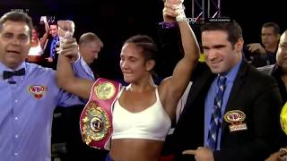 Amanda Serrano vs Edina Kiss 2 Full Fight