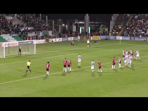 Aaron McEneff v Derry City - 22nd February 2019