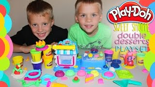 Play Doh Sweet Shoppe Double Desserts Play Time