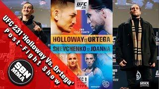 UFC 231 'Max Holloway vs Brian Ortega' Post-Fight Show