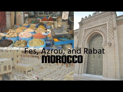 1FITASHMOM Travels -- Morocco, Africa (Fes & Rabat)