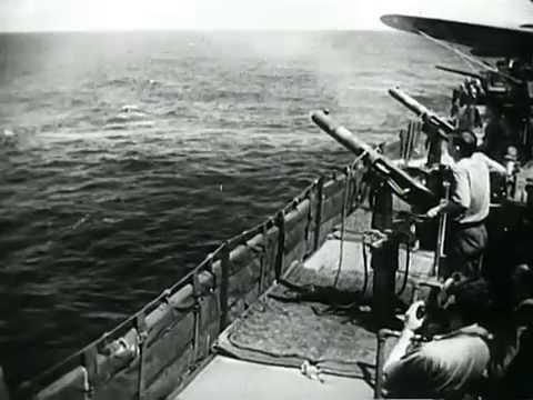 U.S. Navy Blasts Marshall Islands (1941)