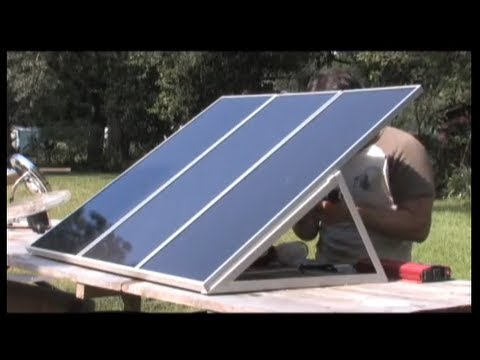 Solar Power. DIY Solar Power Training  PV PHOTOVOLTAIC Harbor freight Free ENERGY Photovoltaic KITS