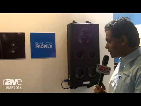 ISE 2016: Sonodyne Overviews SRT Series of Custom Install Speakers