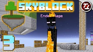 Minecraft SkyBlock #3 - Two... Unexpected Boss Fights