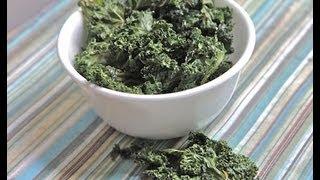 Salt & Vinegar Kale Chips Recipe- How to Make Kale Chips