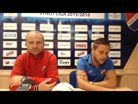 Tisková konference FC Baník Ostrava před utkáním s FK Teplice