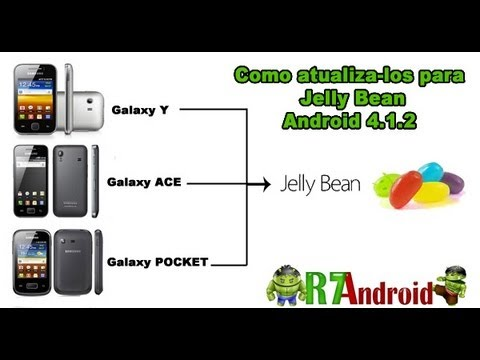 Como atualizar o Samsung Galaxy y. Samsung galaxy ace e pocket para o android Jelly Bean?