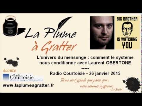 La France Big Brother : Laurent Obertone sur Radio Courtoisie (26 janvier 2015)