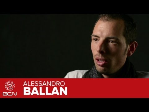 Alessandro Ballan Interview - Team BMC Pro Rider (in Italian with subtitles)