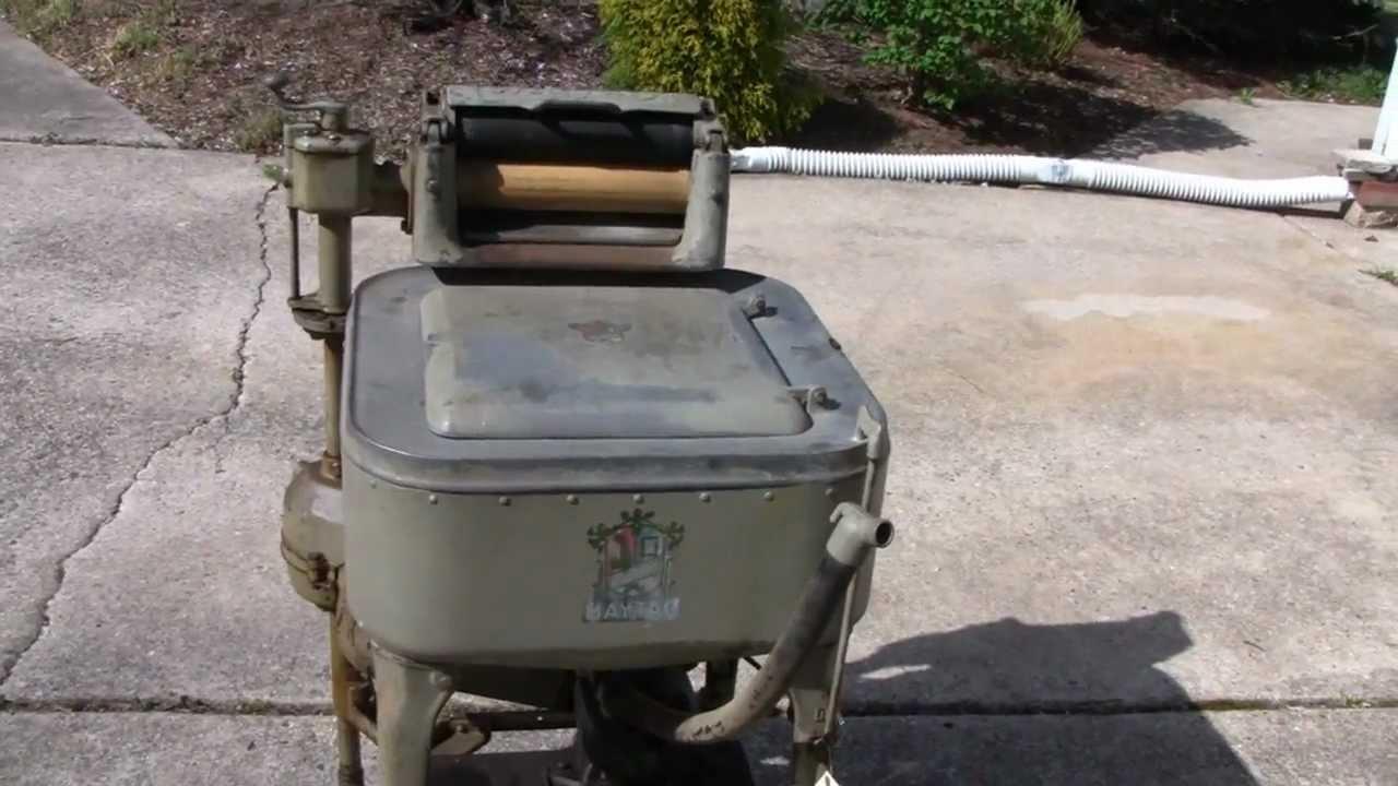 maytag antique washing machine
