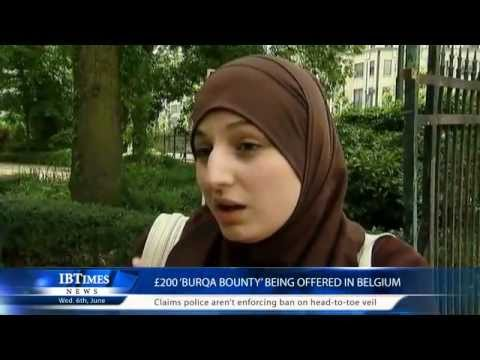 £200 'burqa bounty' being offered in Belgium
