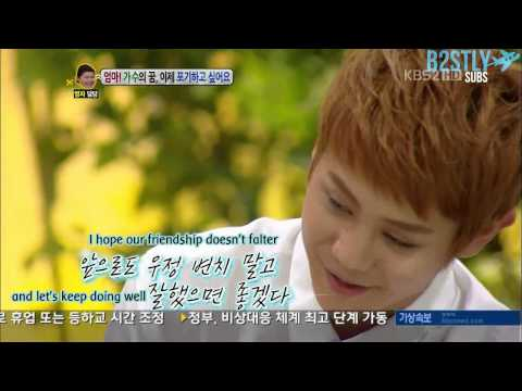 [B2STLYSUBS] 120827 Hello - Yoseob's message to Kikwang