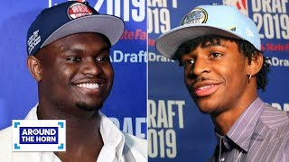 Will Zion save the Pelicans? Is Ja Morant or RJ Barrett the better draft pick? | Around the Horn