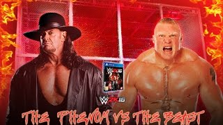 WWE Hell in a Cell 2015  Match Card