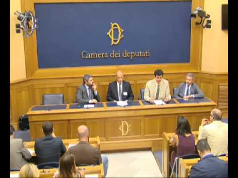 Roma - Presentazione Piattaforma Sinapsi - Conferenza stampa di Massimo Artini (16.07.15)