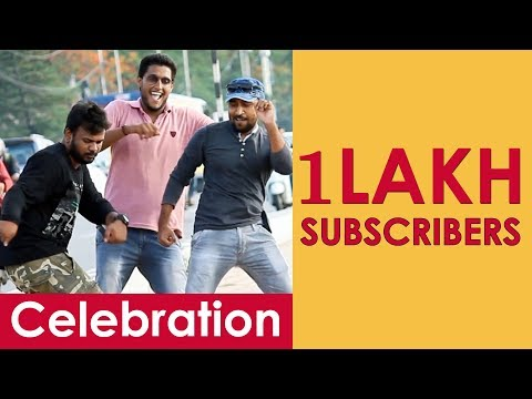 100K Subscribers Celebration with People | Pranks in Telugu | Pranks in Hyderabad 2018 | FunPataka