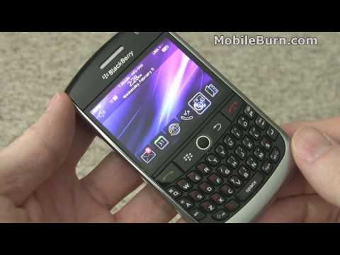 RIM BlackBerry Curve 8900 for T-Mobile review - part 1 of 2 - Design and UI