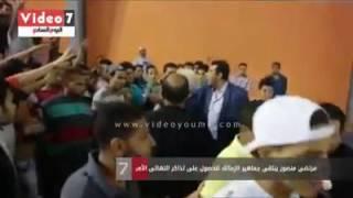 بالفيديو .. مرتضى منصور ينتقى أشخاص بعينهم من جماهير الزمالك للحصول على تذاكر حضور النهائي