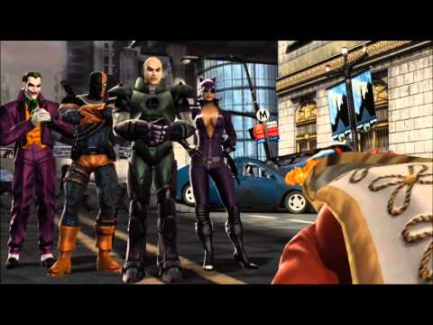 Mortal Kombat Vs Dc Universe: Story Mode (dc Universe's Perspective) video