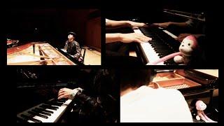 【2台ピアノ】 H ZETT Mさんとまらしぃで作った新曲